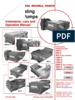 Instruction Manual National Reciprocating Pump D901000106-MAN-001