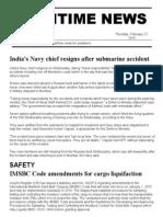 Maritime News 27 Feb 14