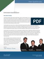 Wisco 1Q 2014 Newsletter