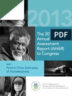 annual homeless assessment report 2013 part1