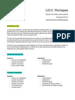 Objetivos Escuela de Patinaje y Hockey UDC Rochapea