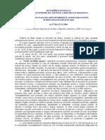HOTĂRÎREA  nr. 37 (2004)Cu privire la practica aplicării legislaţiei în cauzele despre traficul de fiinţe umane şi traficul de copii