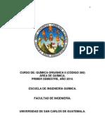 Programa de Organica 2 2014