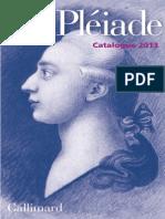 Catalogue Pleiade 2013