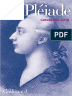 Catalogue Pleiade 2013