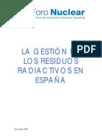 54--Gestion Residuos Radiactivos Espana Foro Nucleardic09