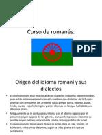 Curso de romanés