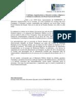 Caso Curuguaty - Audiencia Con Fiscal General Del Estado (2)