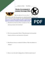 mexico government  economic website scavenger hunt