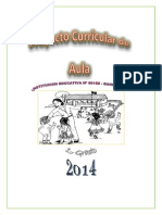Proyecto Curricular 2014