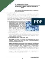 Lab 9-Análisis de alcalinidad y dureza en muestras de agua