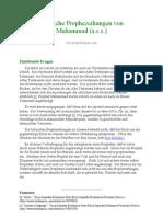 Biblische Prophezeihungen von Muhammad