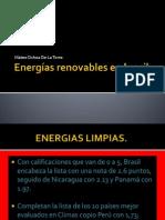Energías renovables en brasil