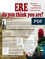 Where Do You Think You Are - Conference Poster