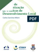 Roteiro de Sistematização de Práticas de Desenvolvimento Local, 2005