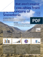 Medical Problems in the Mountains of Snowdonia - Conference Poster