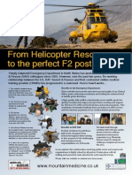 From Helicopter Rescue to the perfect F2 post - Conference Poster