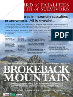 Spinal Injuries in Snowdonia Mountain Casualties - Conference Poster