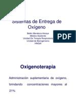 Sistemas de Entrega de Oxigeno JUNIO 2006