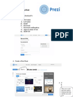 directions for using prezi