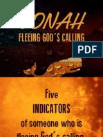 Huyendo del llamado de Dios