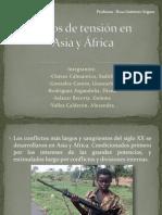Focos de tensión en Asia y África