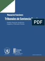 Manual de Funciones Tribunales de Sentencia Penal