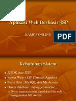 Aplikasi WEB JSP