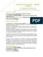 Serpaj-Campaña, talleres y capacitación para No Bajar la Edad Penal Adolescente.doc