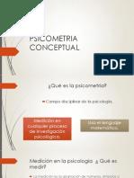 Psicometria Conceptual