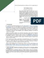 Structure Absolue Et Recherche Trandisciplinaire