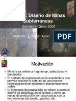 Explotacion de Mineria Subterranea