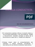31239511 Escuela Conductista en La Administracion