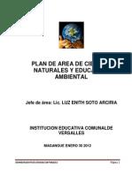Plan de Area Naturales Iecov