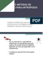 METODOS DE MUESTREO PARA ARTRÓPODOS