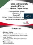 2009 Assessment Institute