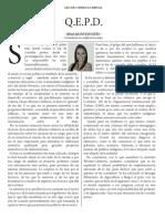 Q.E.P.D - Irma Montes Patiño