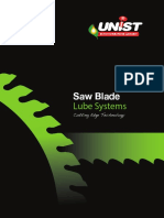 Unist Saw Blade Lube Systems