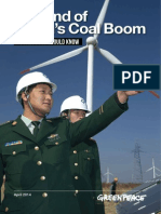 The End of Chinas Coal Boom