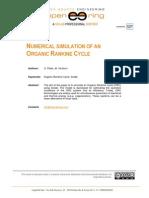 ! 19 Organic Rankine Cycle