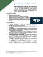 SIPOC Analysis