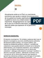Derecho Local y Regional