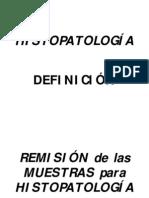 Histopatologia en Oncologia