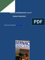 Sernac Financiero Primera Aproximancion