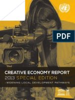 UNESCO Creative Economy Report 2013