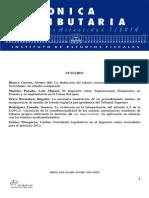 Cronica Tributária (Espanha) IEF 01.2014 (Boletim)