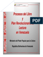 Plan Simon Bolivar a Nivel Cultural