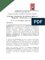Convocatoria Oficial XV Encuentro Iberoamericano de Cementerios - Quillota, Chile 2014
