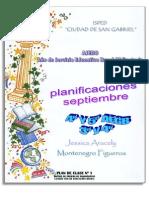 Septiembre-plan de Clases