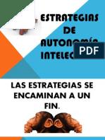 7.- ESTRATEGIAS DE AUTONOMÍA INTELECTUAL
